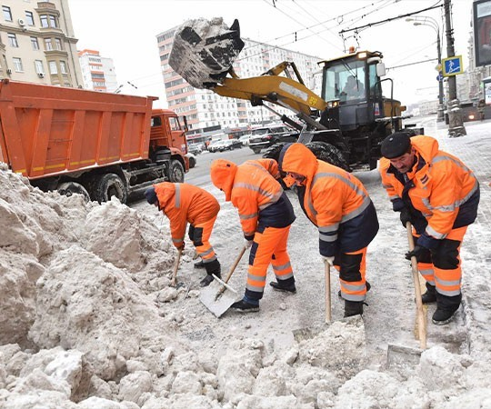 Уборка снега в Анапе и Краснодарском крае