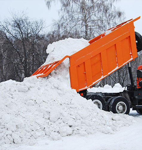 Услуга по уборке снега в Анапе