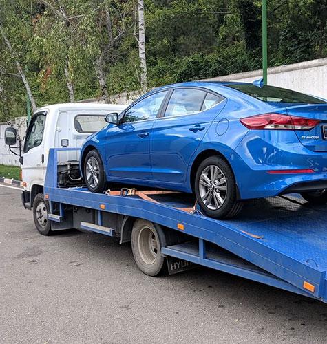 Транспортировка легковых авто в Анапе