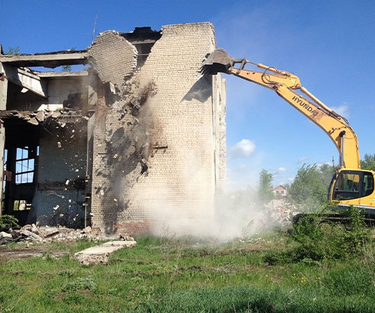 Демонтаж зданий в Анапе и Краснодарском крае