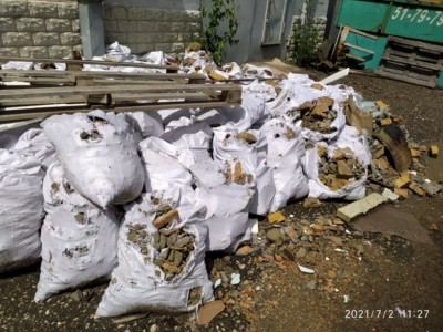 Вывоз мусора после демонтажных работ